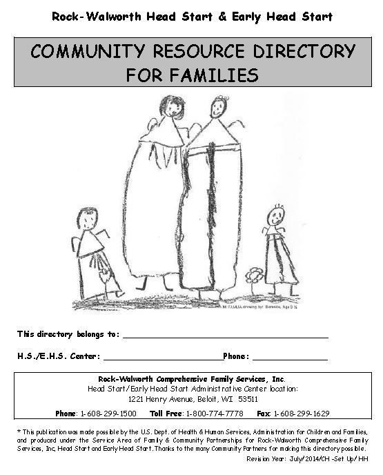 2014 Community Resource Directory