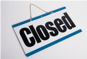 RWCFS CLOSED for holiday